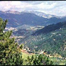 Postales: SIERRA DE CAZORLA.- CAMINO FORESTAL LONGITUDINAL DEL GUADALQUIVIR.. Lote 37920105