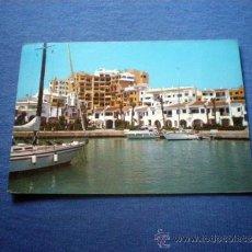 Postales: POSTAL MALAGA MARBELLA PUERTO CABOPINO NO CIRCULADA. Lote 38091729