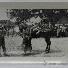Postales: ANTIGUA FOTOGRAFIA DE SANCHEZ DEL PANDO, ROMERIA DE LA VIRGEN DEL ROCIO (SEVILLA), 1920 APROXIMADAME. Lote 38131369