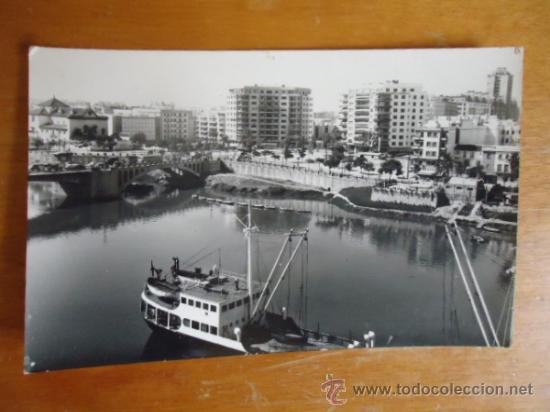 ANTIGUA RARA POSTAL N 97 SEVILLA , RIO Y LOS REMEDIOS, EDICIONES DELFLOR ZARAGOZA , (Postales - España - Andalucia Moderna (desde 1.940))