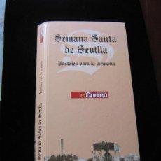 Postales: COLECCION - EDITADA - EL CORREO DE ANDALUCIA - 96 POSTALES PARA LA MEMORIA - SEMANA SANTA SEVILLA. Lote 152702974