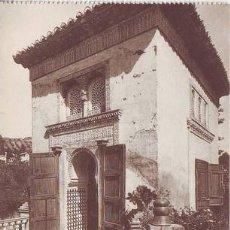 Postales: GRANADA (ALHAMBRA) LA MEZQUITA.. Lote 38769039