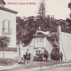 Postales: MALAGA. FUENTE DE REDING.. Lote 38770439