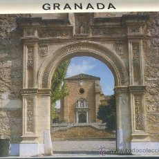 Postales: BLOC POSTAL. GRANADA. LA CARTUJA. DESPLEGABLE DE 16 POSTALES P-BLOC-006. Lote 50024284