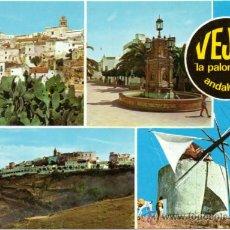 Postales: VEJER DE LA FRONTERA.- DIVERSOS ASPECTOS.. Lote 38914403