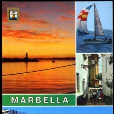 Postales: MARBELLA (COSTA DEL SOL).- DIVERSOS ASPECTOS.. Lote 38954911