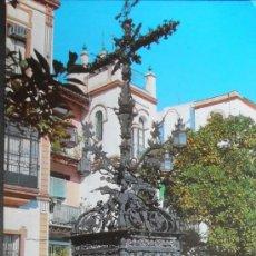 Postales: (3802)POSTAL ESCRITA,BARRIO DE SANTA CRUZ; CRUZ DE CERRAJERIA,SEVILLA,SEVILLA,ANDALUCIA,CONSERVACION. Lote 38957102