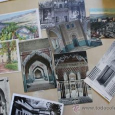 Postales: LOTE DE 10 POSTALES ANTIGUAS DE GRANADA.. Lote 39009902