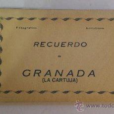 Postales: RECUERDO DE GRANADA (LA CARTUJA) # 10 TARJETAS POSTALES - ED. ARRIBAS. Lote 38992060
