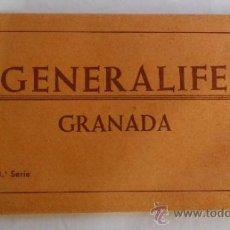 Postales: GENERALIFE, GRANADA # 3ª SERIE - 10 TRAJETAS POSTALES. Lote 38992212