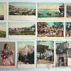 Postales: 14 POSTALES DE MÁLAGA DE PRINCIPIOS DE SIGLO XX. SIN CIRCULAR. ORIGINALES.. Lote 39089000