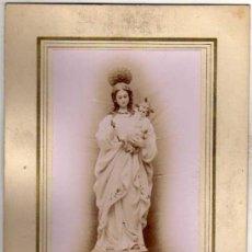 Postales: FOTOGRAFIA NTRA SRA DE LAS NIEVES. 1913 TEXTO MANUSCRITO DE DON FRANCISCO CASTRO SANCHEZ. Lote 39113953