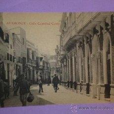 Postales: AYAMONTE.- CALLE CRISTOBAL COLÓN.. Lote 39118174