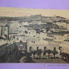 Postales: AYAMONTE.- VISTA PANORAMICA. AL FONDO LAS RUINAS DEL CASTILLO. Lote 39118176