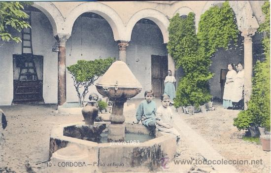 CORDOBA,PATIO ANTIGUO,EDIT.FRAGUERO, SERIE COLOR, RARA (Postales - España - Andalucía Antigua (hasta 1939))