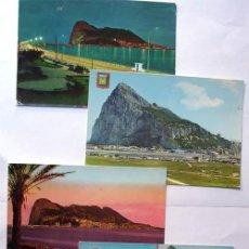 Postales: 4 POSTALES PEÑON DE GIBRALTAR / LA LINEA - CADIZ / AÑOS 60 - 70. Lote 39352529