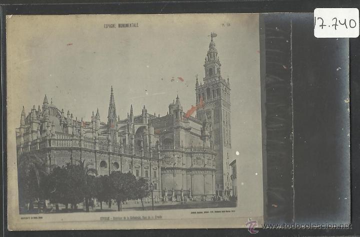SEVILLA - CATEDRAL - (17740) (Postales - España - Andalucía Antigua (hasta 1939))