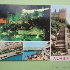 Postales: VISTAS DE ALMERÍA. ED. ARRIBAS. Lote 39509201