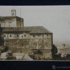 Postales: POSTAL SIN CIRCULAR GRANADA LA ALHAMBRA TORRE DE LA VELA Y CATEDRAL FOTOTIPIA HAUSER Y MENET MADRID. Lote 39643737