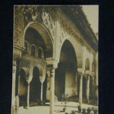 Postales: POSTAL SIN CIRCULAR GRANADA ALHAMBRA GENERALIFE PATIO FOTOTIPIA HAUSER Y MENET MADRID. Lote 39643975