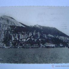 Postales: POSTAL DE ALGECIRAS.- VISTA PARCIAL DE GIBRALTAR. Lote 39666724