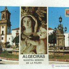 Postales: POSTAL CADIZ - ALGECIRAS - IMAGEN IGLESIA DE NUESTRA SEÑORA DE LA PALMA - SIN CIRCULAR - 1972. Lote 39850814