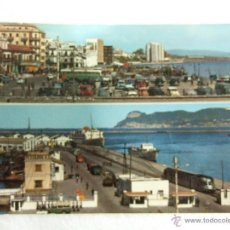 Postales: POSTAL CADIZ - ALGECIRAS - PUERTO - 1963 - SIN CIRCULAR. Lote 39851030