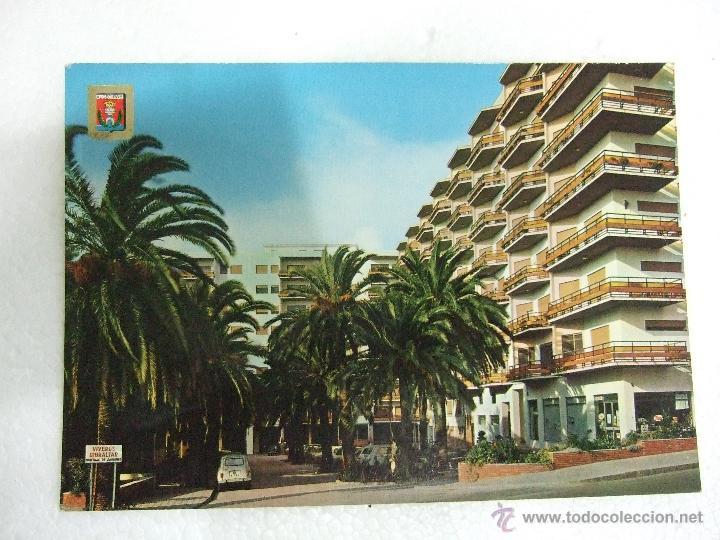 POSTAL CADIZ - ALGECIRAS - URBANIZACION VILLA PALMA - 1972 - SIN CIRCULAR (Postales - España - Andalucia Moderna (desde 1.940))