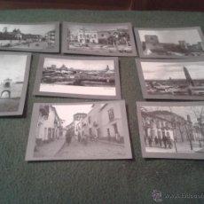 Postales: LOTE JUEGO 8 POSTALES DE UTRERA COLECCION TITULADA 1950 2000 VIA MARCIALA 50 AÑOS EN BLANCO NEGRO . Lote 39852134