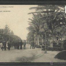 Postales: CADIZ - 2079 - PARQUE GENOVES - HAUSER Y MENET - (17827). Lote 39880536