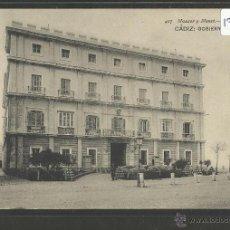 Postales: CADIZ - 407 - GOBIERNO MILITAR- HAUSER Y MENET - (17828). Lote 39880561