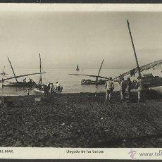 Postales: TORRE DE MAR - 9 - LLEGADA DE LAS BARCAS - FOTO ROISIN - (17835). Lote 39880753