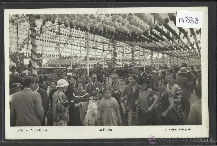 SEVILLA - 206 - LA FERIA - FOTO ROISIN - (17838) (Postales - España - Andalucía Antigua (hasta 1939))