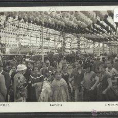 Postales: SEVILLA - 206 - LA FERIA - FOTO ROISIN - (17838). Lote 39880966