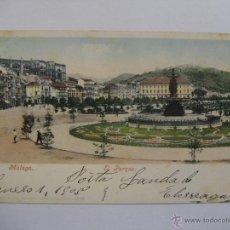 Postales: POSTAL MÁLAGA, EL PARQUE. Lote 29026499