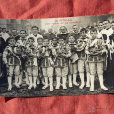 Postales: POSTAL ANTIGUA FOTOGRAFICA-SEVILLA -LOS SEISES DE LA CATEDRAL. Lote 39943409