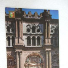 Postales: POSTAL MALAGA - FACHADA PRINCIPAL DE LA CATEDRAL - 1979 - SIN CIRCULAR. Lote 39991077