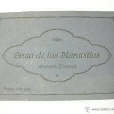 Postales: BLOC 12 POSTALES GRUTA DE LAS MARAVILLAS - ARACENA (HUELVA) - FOTOGRAFO E. DUCKER. Lote 40037435