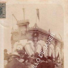 Postales: SEVILLA - FERIA DE ABRIL - POSTAL FOTOGRAFICA - FECHADA EN 1903. Lote 40184031