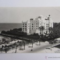 Postales: POSTAL DE CÁDIZ. HOTEL ATLÁNTICO. MALET. CIRCULADA 1955. Lote 40203695