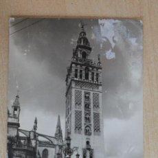 Postales: TARJETA POSTAL DE SEVILLA. LA GIRALDA. Lote 40369011