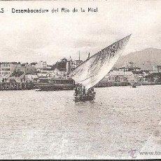 Postales: POSTAL ALGECIRAS DESEMBOCADURA DEL RIO DE LA MIEL EDITOR MANUEL BARREIRO NUM 20 --OCASION---. Lote 40429433