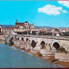 Postales: CÓRDOBA - PUENTE ROMANO -AL FONDO VISTA PARCIAL - SUBIRATS CASANOVAS Nº 778. Lote 40433496
