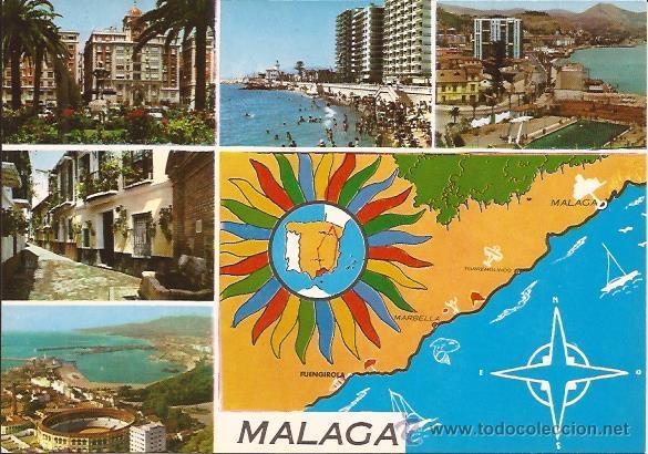 MALAGA - Nº 2119 - EDICIONES ARRIBAS - SIN CIRCULAR (Postales - España - Andalucia Moderna (desde 1.940))