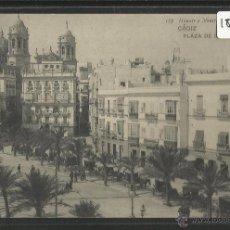 Postales: CADIZ - 185 - PLAZA DE ISABEL II - HAUSER Y MENET - (18463). Lote 40618564