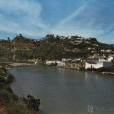 Postales: POSTAL ARCOS DE LA FRONTERA, VISTA DE LA CIUDAD SOBRE EL RÍO GUADALETE . Lote 40620815