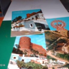Postales: CUATRO POSTALES DE ALMERÍA. AÑOS 70. Lote 148149990