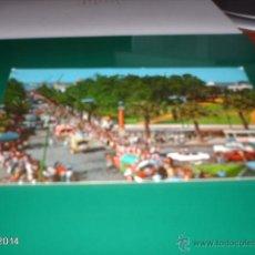 Postales: POSTAL DEL DESFILE DE CARRETAS DE HUELVA. AÑOS 70. Lote 40977077