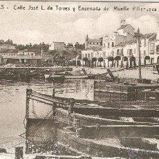 Postales: 23 ALGECIRAS - C. JOSE L. DE TORRES Y ENSENADA ......BARREIRO ... SIN CIRCULAR. Lote 41046857