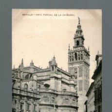 Postales: SEVILLA VISTA PARCIAL DE LA CATEDRAL - SIN EDICIÓN - POSTAL - POSTAL. Lote 41181956